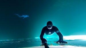 Frozen Lake Free Dive
