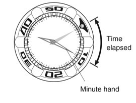 how to read a watch bezel